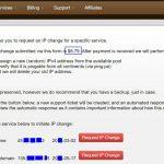 搬瓦工优惠码 – 免费更换IP方法